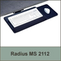 Radius Keyboard Tray 21 inch with Slide Out Mousing Surface